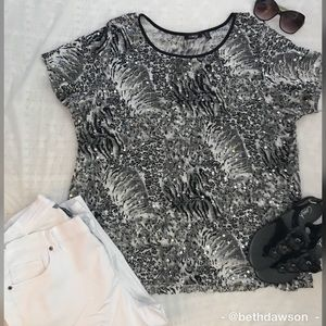 🆕NWOT Elementz Sequined Top Size 3X